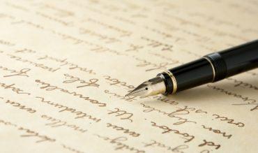 pluma escribir poesía