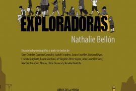 Portada Exploradoras de Nathalie Bellón poesía gráfica