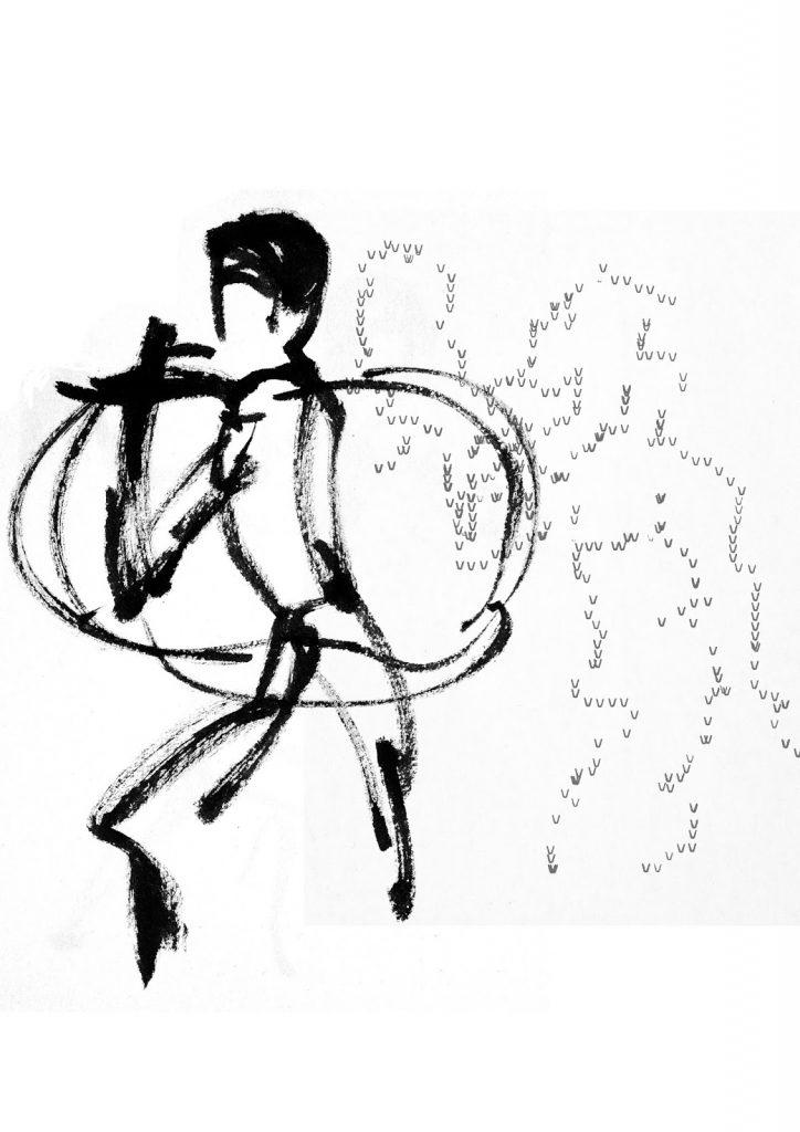 """""""Nostalgia de la acción"""", el nuevo poemario de Ana Gorría, con dibujos de Marta Azparren"""