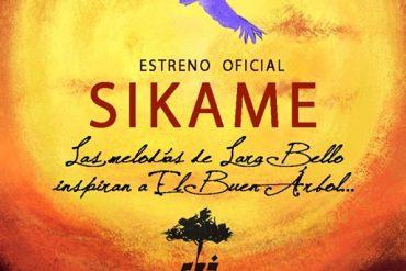 Cartel Sikame El Buen Árbol y Lara Bello