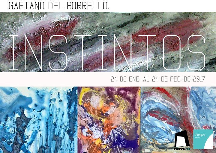 cartel exposición Instintos