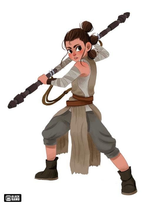 """""""Rey"""" (Star Wars)"""