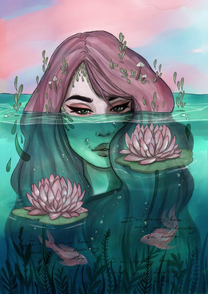 """""""I'm drowing"""" por Victoria Ripalda"""