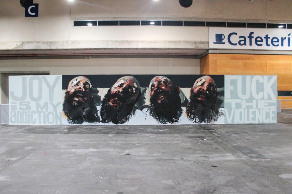 Mural Mulafest 2015 Madrid