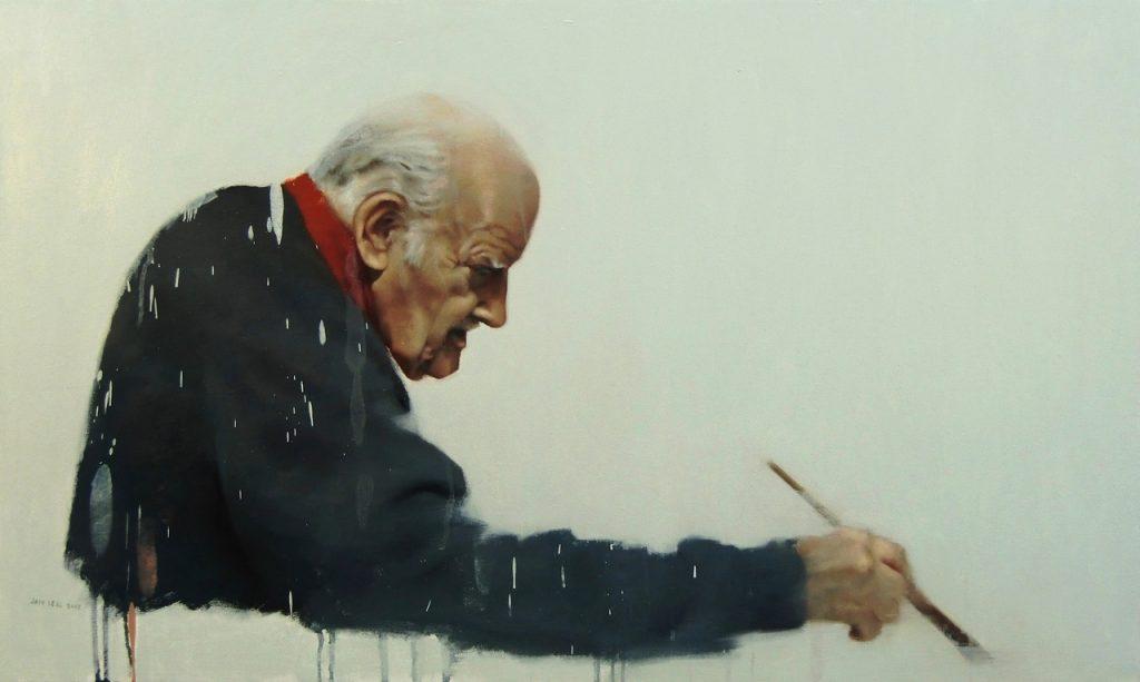 Óleo sobre lienzo. 100 x 60 cm. Jair Leal 2012.