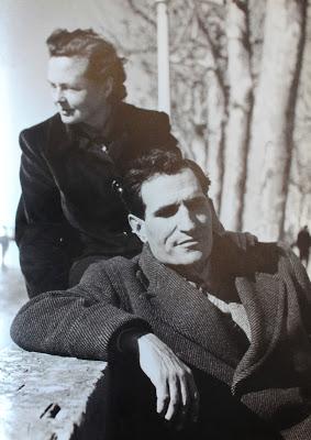 Miguel Torga con su mujer Andrée Crabbé