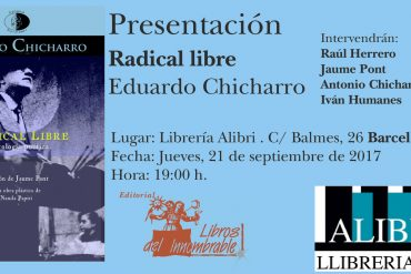 Radical libre, Eduardo Chicharro